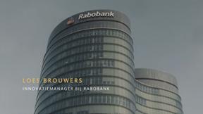 Loes bij de Rabobank
